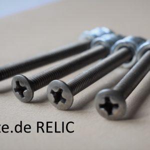 Relic look neck screws 45mm