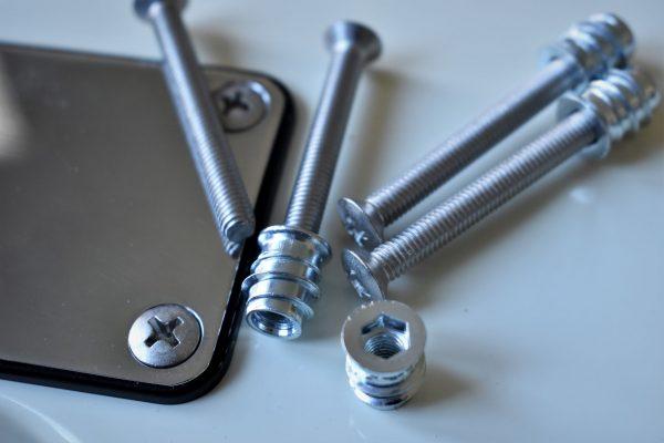 M5 45 mm screws for Fender tyle guitars with bigger neck screws